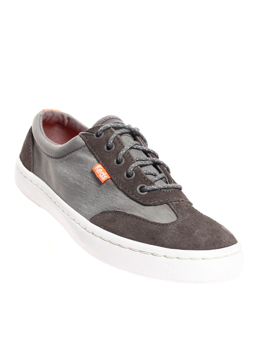 Grey color Casual Shoes . Keds Tournament Nylon Lace-up Sneakers -