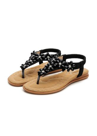 Sandals and Slippers . Simple  Diamond Sandals -