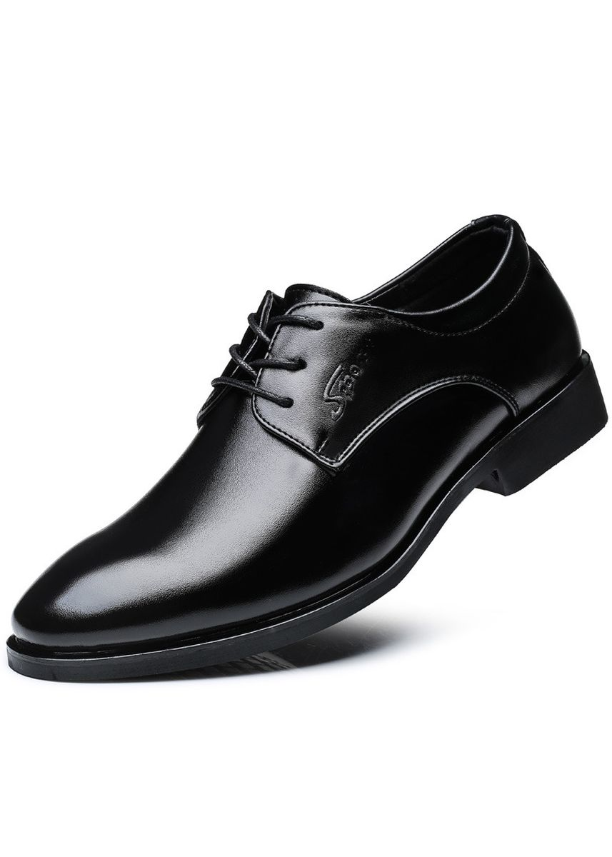 Black color Formal Shoes . Fashion Oxford Shoe Men Leisure Shoes -
