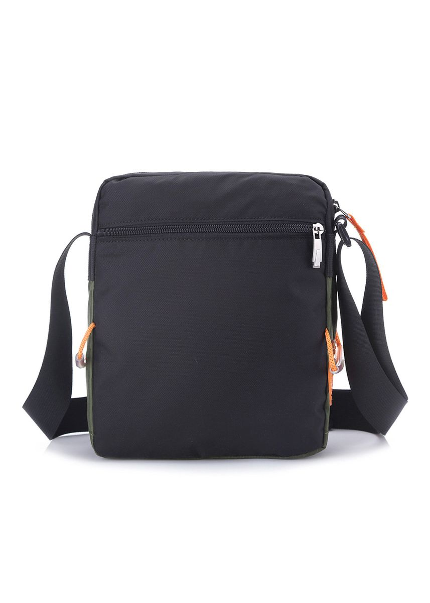 Black color Messenger Bags . Cool sports casual diagonal shoulder bag -