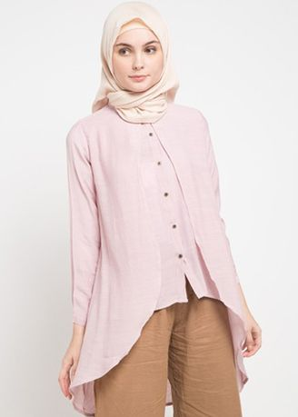 Pink color Tops and Tunics . Morphidae Aldery Women Blouse -