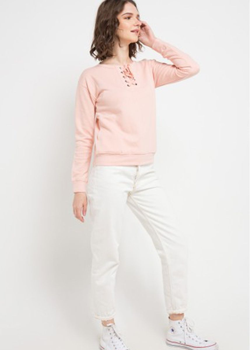 Pink color Tops and Tunics . Morphidae Emery Women Blouse  -