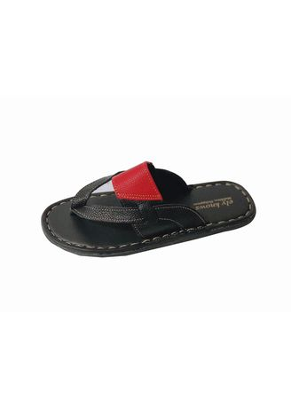 Multi color Sandals and Slippers . Ely-Knows Men's Slippers -