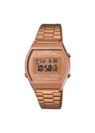 Gold color Digital . Casio Unisex Rose Digital Watch -