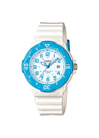White color Analog . Casio Quartz Women's Resin Analog Watch -