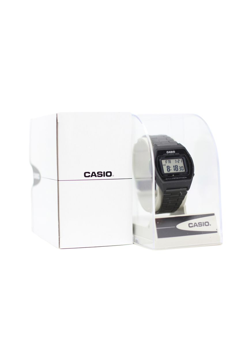 White color Watch Cases . Casio Original Acrylic Case -