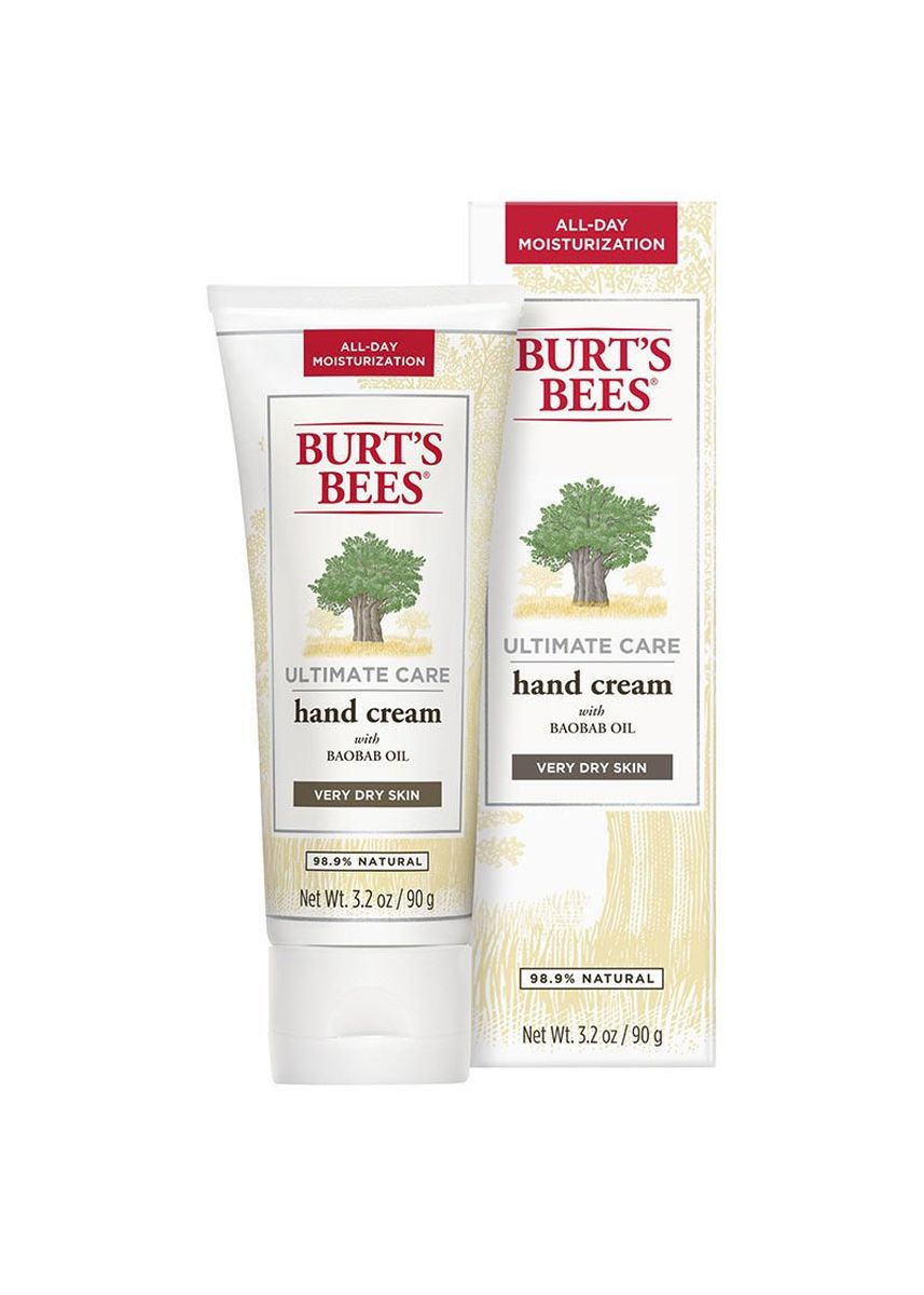No Color color Moisturizers . Burt's Bees Ultimate Care Hand Cream 90g -