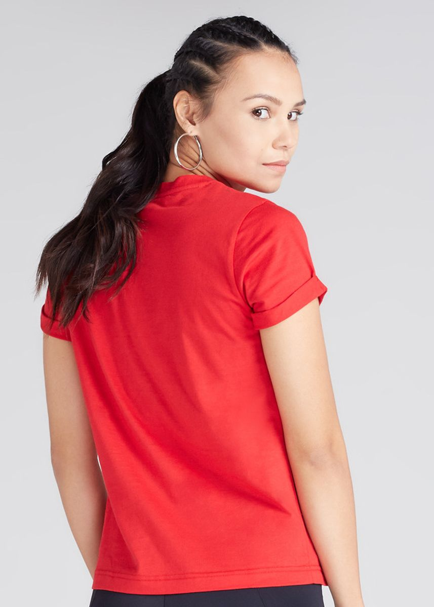 Red color Tees & Shirts . Official Marvel's Spider Power Print Round Neck T-shirt -