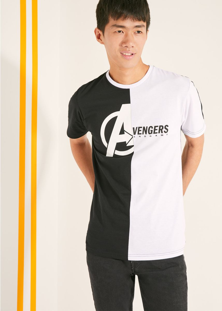 Multi color T-Shirts and Polos . Official Marvel's Avengers Two Tone T-Shirt -