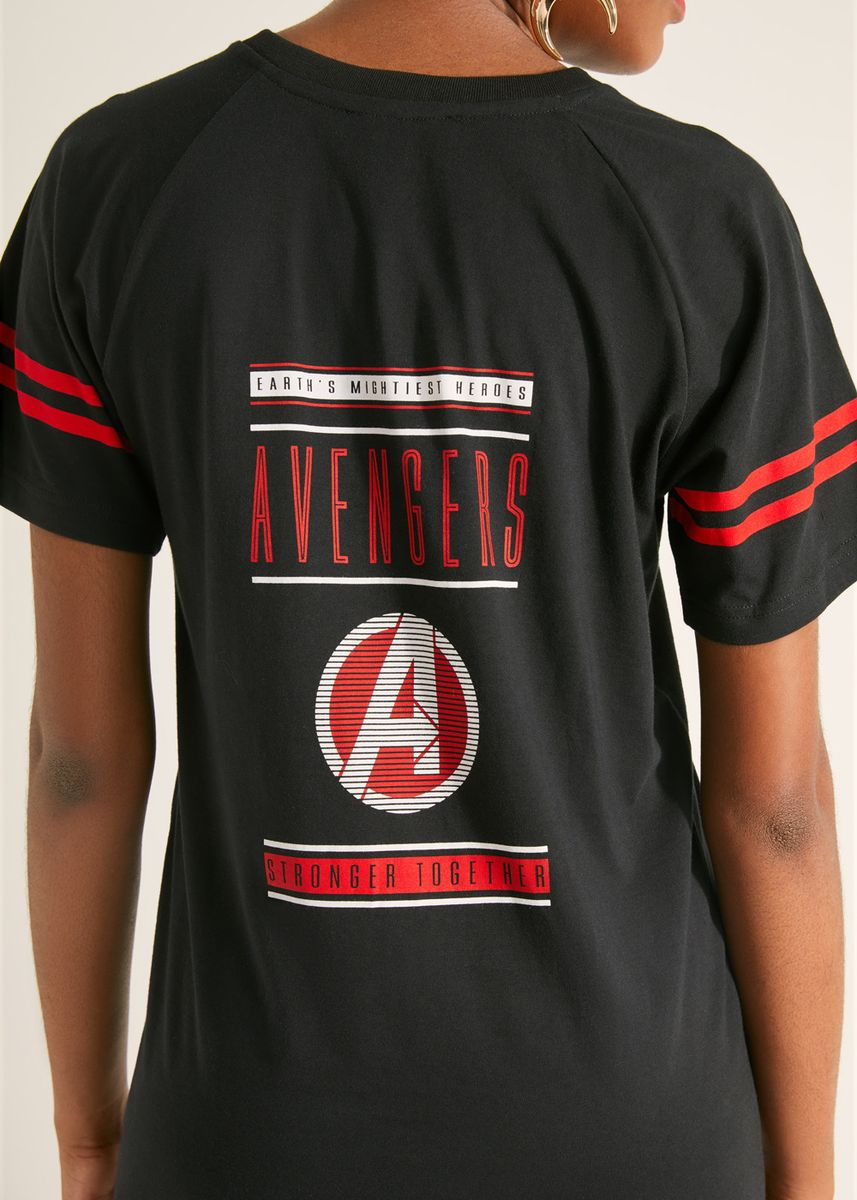 ดำ color เดรส . Official Marvel's Avengers Red Lining Dress -