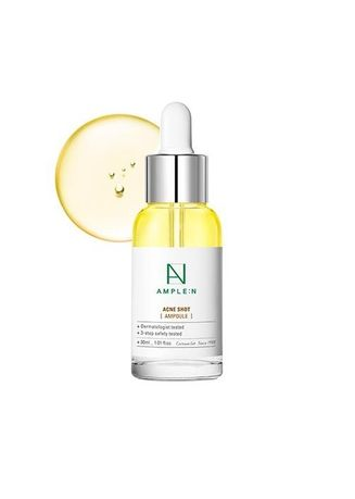 Red color Serum & Treatment . Ample N Acne Shot 30ml -