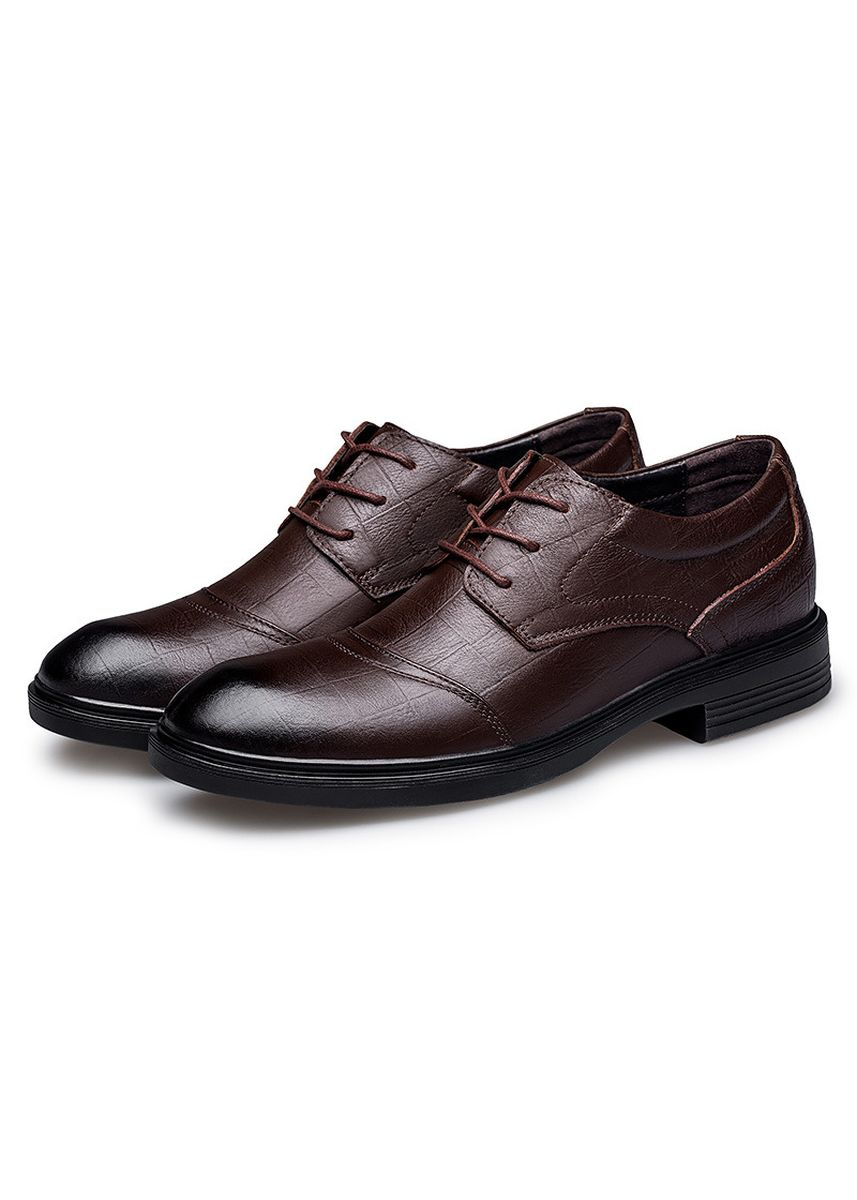 Brown color Formal Shoes . British Suit Men's Leather Shoes -