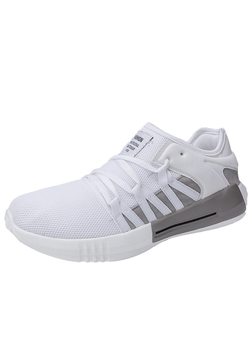 White color Sports Shoes . Summer mesh casual sports men's shoes -