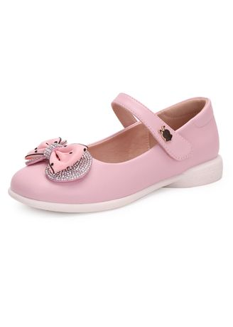 Pink color Footwear . BOBDOG Girl's Blow Round Toe Mary Jane -