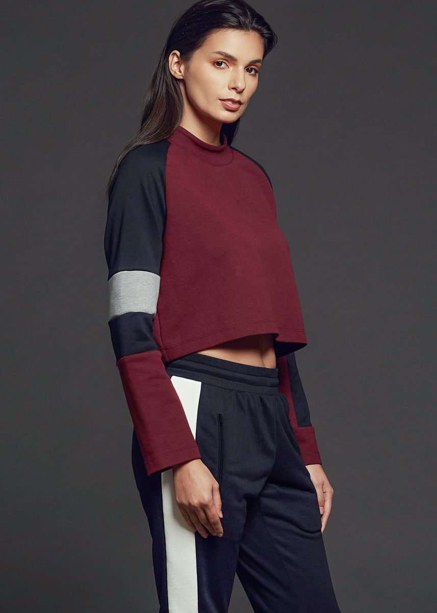Multi color Tops and Tunics . AvelxAlden Lotte Crop Top -