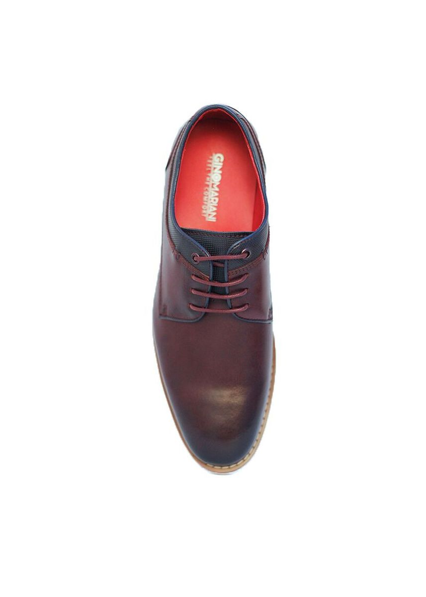Merah color Sepatu Kasual . Gino Mariani Tyrell Smart Casual Shoes -