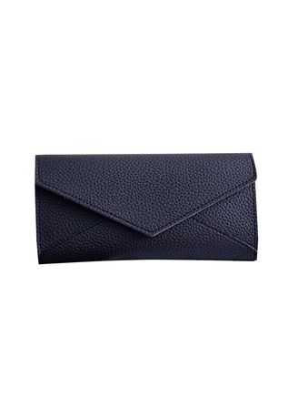 Black color Wallets and Clutches . Fleur Wallet bdo113 -