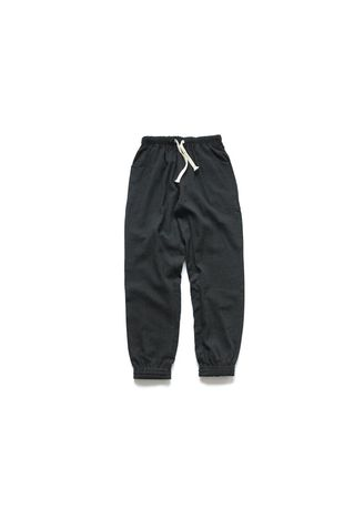 Black color Casual Trousers and Chinos . Privathinker Celana Jogger Casual Pria  -