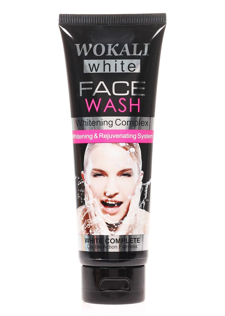 No Color color Face Wash . Wokali Charcoal Whitening Face Wash, 130ml -