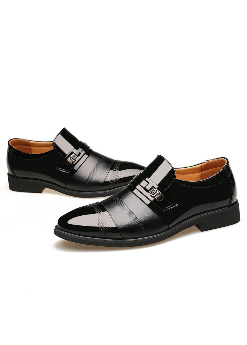 Black color Formal Shoes . Men Formal Shoes Invisible Heightening -