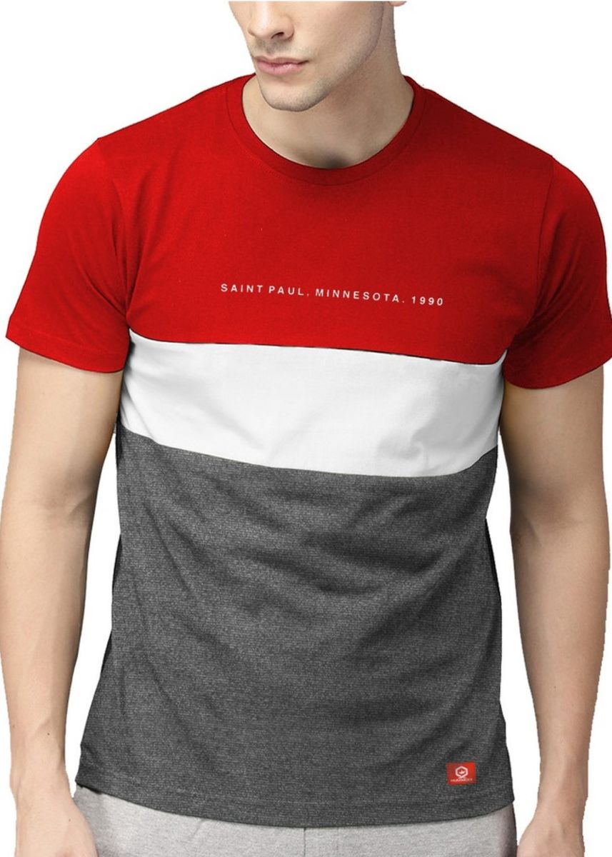 Merah color Kaus Oblong & Polo . Hummock - Tshirt Distro -H03B-TC 1051 -