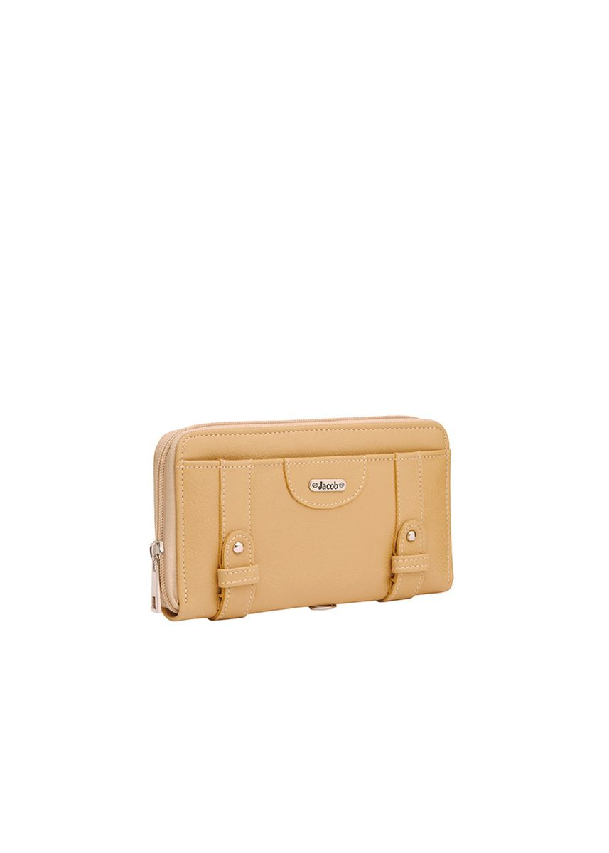 Beige color Wallets and Clutches . Jacob International กระเป๋าสตางค์ V32125 (เบจ) -