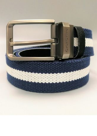 สีกรม color เข็มขัด . Giordano Cotton Reversible Belt (Men) -