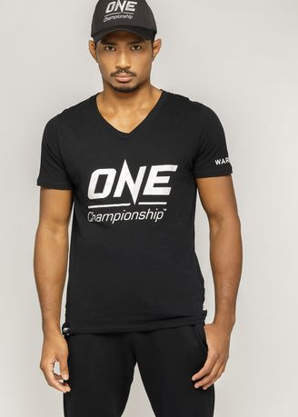 . ONE Unisex Premium Logo Black T-Shirt -
