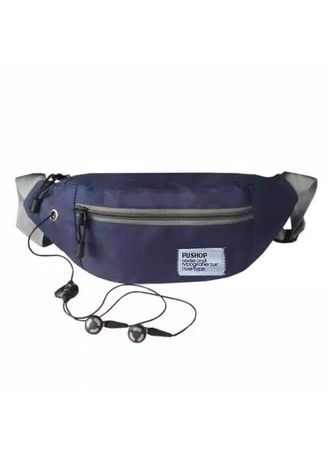 Navy color Messenger Bags . Tas Selempang Waisbag Distro WB001 -