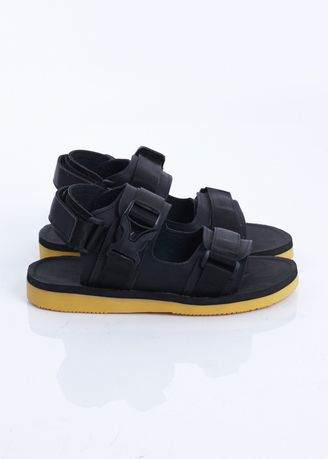 Black color Sandals and Slippers . sandal gunung Sandal Pria Cutter Black Sendal Pria Cutter Black -