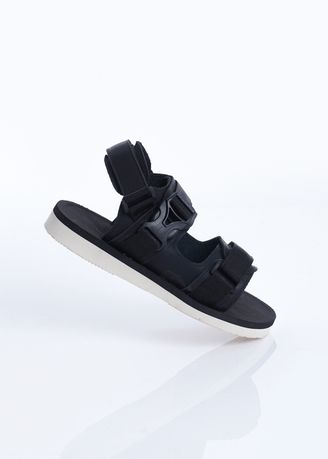 Black color Sandals and Slippers . sandal gunung Sandal Pria Cutter Black Sendal Pria Cutter Black Series -