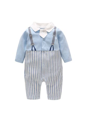 มัลติ color Onesies . Boys Gentleman Outfits Suits -