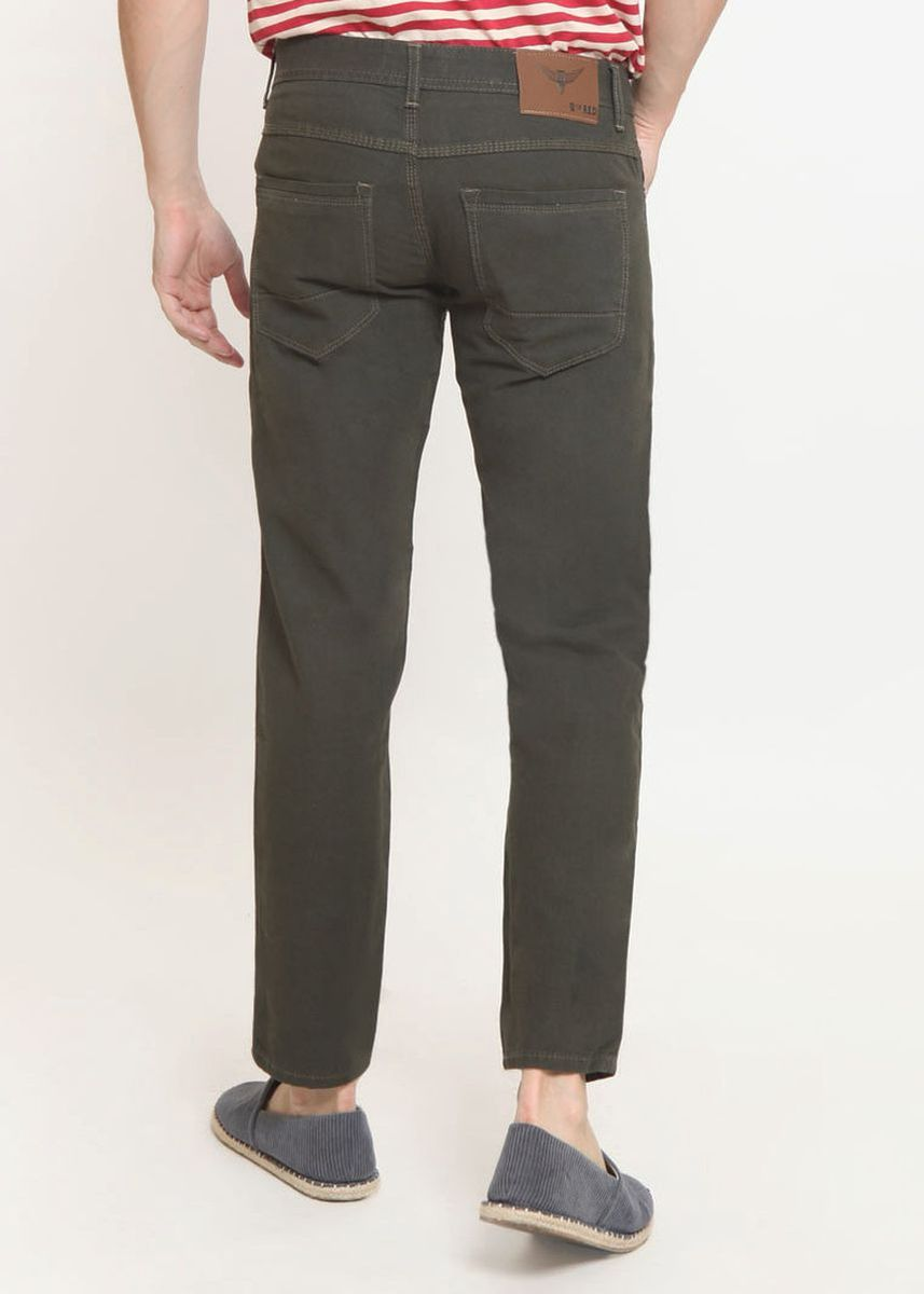 Green color Jeans . 2Nd RED Celana Panjang Twill- Hijau 115516 -