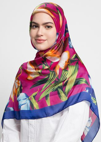 Multi color Hijab . RA Hijab - S.PRILIA 9 -