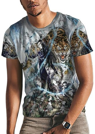 Multi color T-Shirts and Polos . Culture Shock Fantasy Druid Men's Tee -