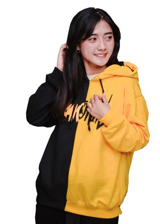 Yellow color Jackets . FJ Sweater Unisex Clown Two Side -
