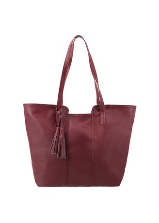 Maroon color Hand Bags . MYNT By MAYONETTE Amenda Tote Bag -