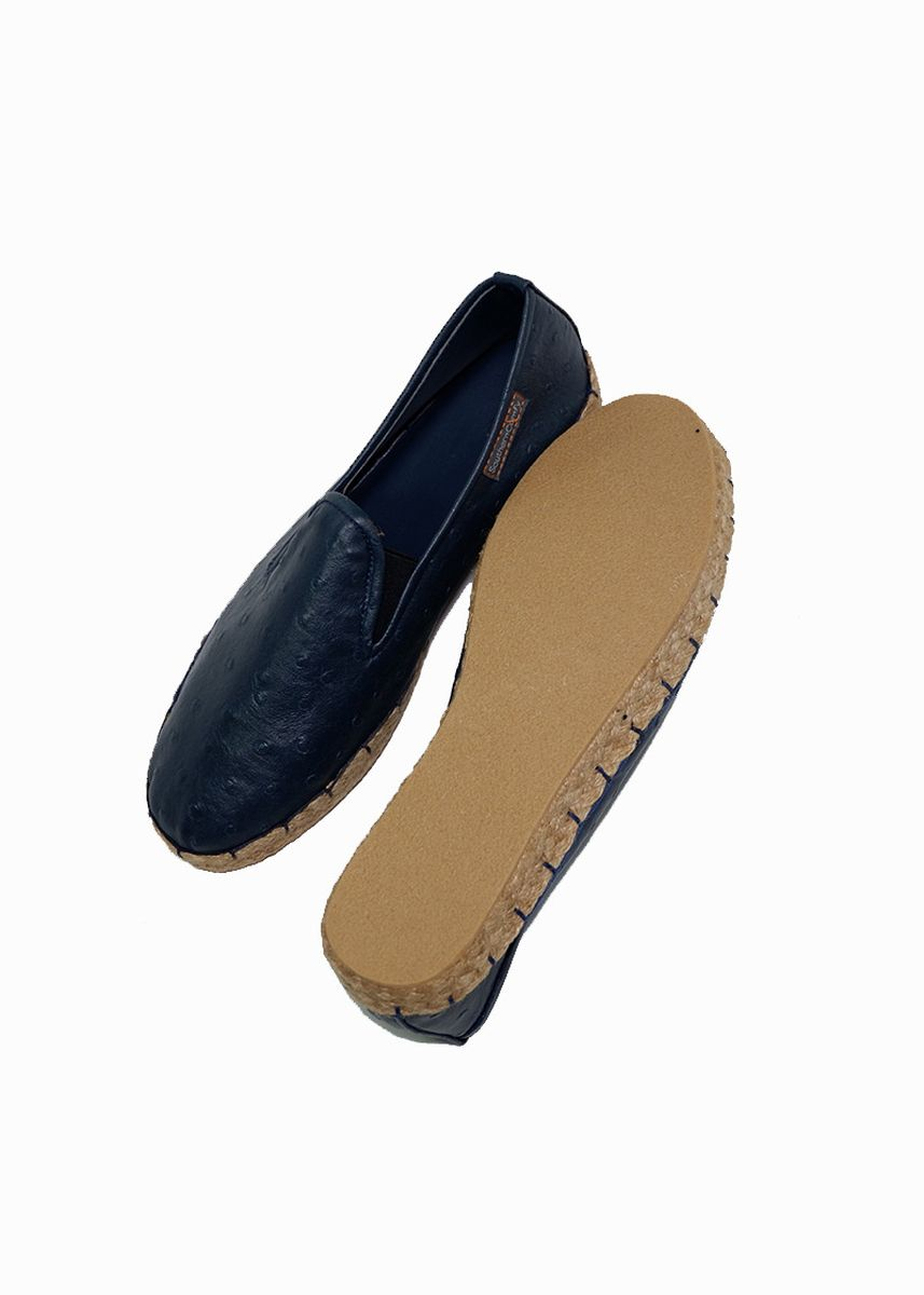 Navy color Casual Shoes . Southern Comfy Ltr Marina Blue Leatherette Shoes For Women -