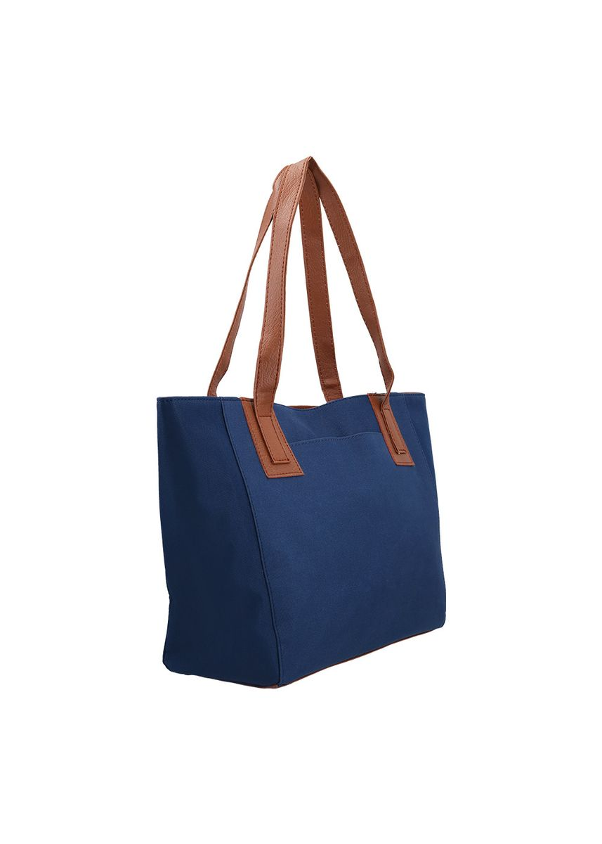 Navy color Tote Bags . MYNT By MAYONETTE Emmi Tote Bag -
