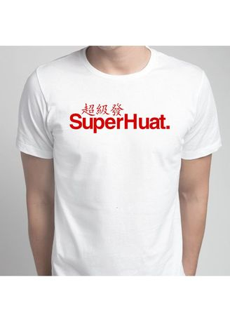 White color T-Shirts and Polos . SuperHuat T-Shirt -