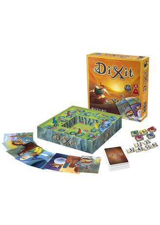 Multi color Toys . Toy's World Dix It Family Board Game -