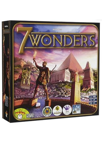 Multi color Toys . Toy's World 7 Wonders Family Board Game -