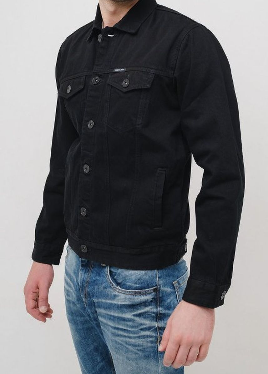 Black color Outerwear . Greenlight Men Jacket 090819 -