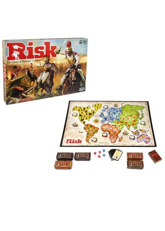 Multi color Toys . Toy's World Classic Risk Board Game Toy For Kids -