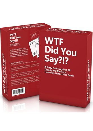 Multi color Toys . Toys World WTF Did You Say Card Party Game -