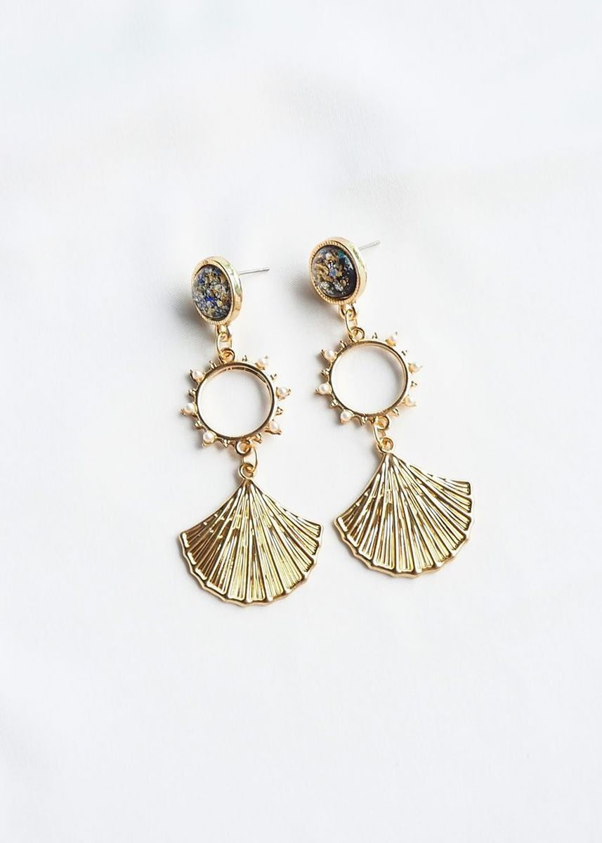 Gold color  . Ally Earstuds -