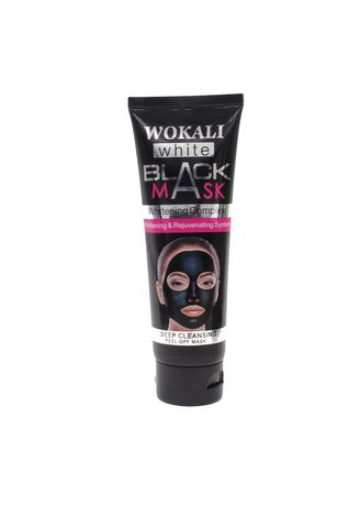 No Color color Masks . Wokali White Black Mask -