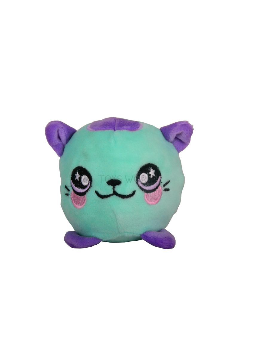 Multi color Toys . Toys World Squishamals Stress Ball Dolls Toy Green Cat -