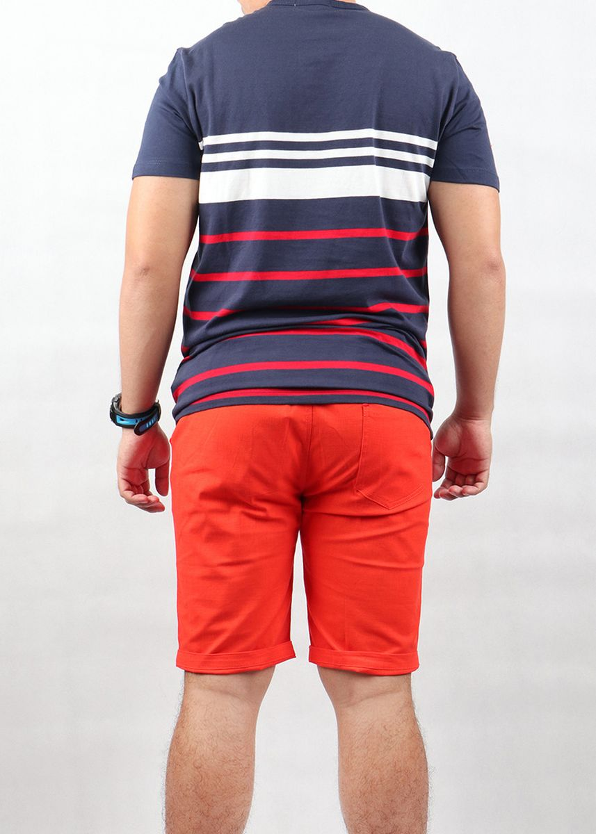 Multi color T-Shirts and Polos . Mogao Fashion Men's Striped T-shirt -
