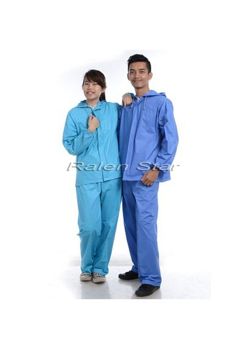 Blue color Jackets . JAS HUJAN STELAN SUARES RALEN STAR - 66004 -
